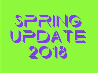 click to view Spring 2018 Update