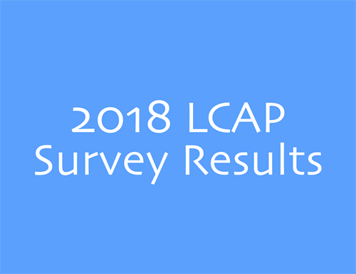 2018 LCAP Survey Results